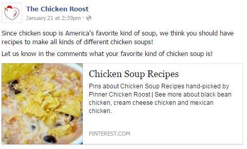 Chicken Roost Facebook