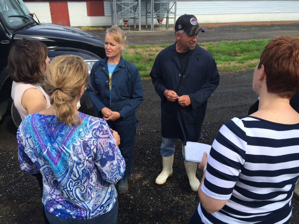 Chicken farmers Terri Wolf-King & Jeff King answer questions on their farm
